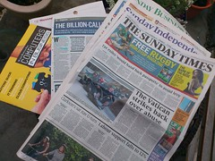 Sunday Newspapers in Six Minutes