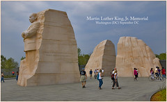 Martin Luther King, Jr. Memorial -- Washington...