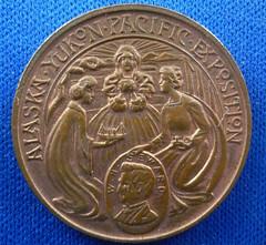 Alaska Yukun Pacific medal