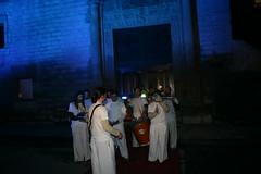 Grupo que amenizó la inauguración con su actuación