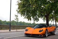 Modena Design. (Alex Penfold) Tags: auto camera uk orange black london cars alex sports car sport mobile canon silver photography eos photo cool flickr chelsea image awesome flash picture super spot x exotic photograph f legends spotted hyper carbon rims supercar spotting numberplate exotica x20 sportscar zonda sportscars supercars nda pagani penfold spotter 2011 hypercar 60d hypercars alexpenfold x20nda 20nda