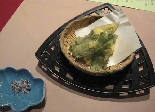 山野草てんぷら・ゆかり塩で 2011年9月4日 by Poran111