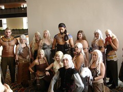 The Khalasar (Game of Thrones / Song of Ice and Fire) - DragonCon 2011 saturday (Futuregirl_LeahRiley) Tags: costumes atlanta game georgia costume dragon cosplay saturday dragons fantasy convention series hbo con dragoncon thrones khaleesi drogo georgerrmartin gameofthrones khal songoficeandfire targaryen dragoncon2011 khaldrogo dothraki viserystargaryen khalasar danaeryestargaryen