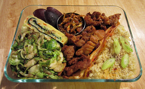 Korean Chicken Bento 9-5-11 by BrickMillStudio