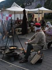Campfire (II) (dididumm) Tags: camp people germany leute medieval menschen campfire nrw lager lagerfeuer sauerland altena lenne mittelalterlich altenaeinestadterlebtdasmittelalter