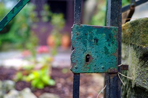 Gartentor by Fotosilber