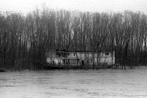 21 Ghost Boat  April 1974 by joespake