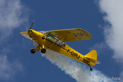 F-GIRJ, Piper PA 18 (Flox Papa) Tags: aircraft meeting piper condom spotting gers pa18 patrouille spotair pipercrazyteam