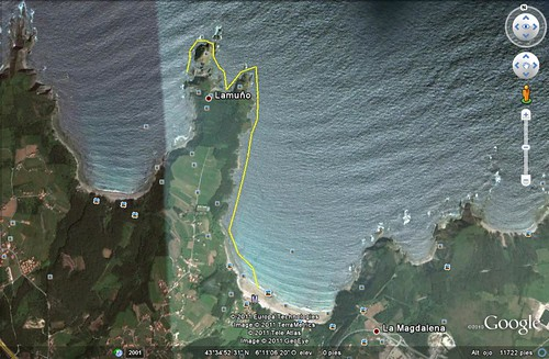 Artedo -Isla Ratón-Punta Austera.