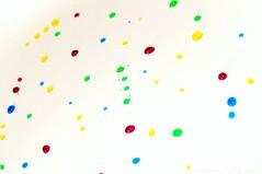 Liquid Confetti. [+4 in comments] (Hammonton Photography) Tags: camera pink blue red green water yellow lens drops rainbow nikon colorful purple flash confetti september 1855mm liquid strobe 2011 strobist ab800 d5000 jessicadigiacomo hammontonphotography