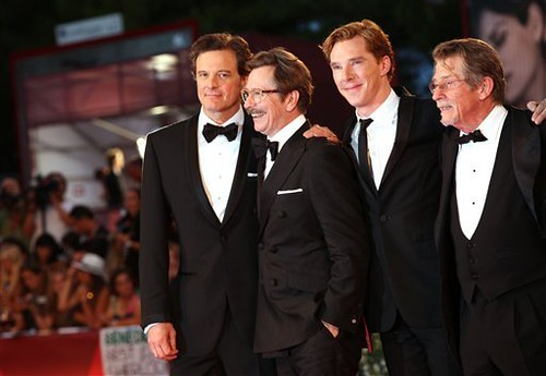 premiere of the film Tinker, Tailor, Soldier, Spy in 68th Venice Film Festival