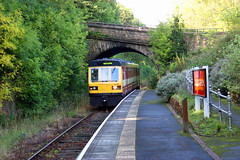 "Eastbound at Wolsingham • <a style=""font-size:0.8em;"" href=""http://www.flickr.com/photos/11477083@N00/6124398536/"" target=""_blank"">View on Flickr</a>"