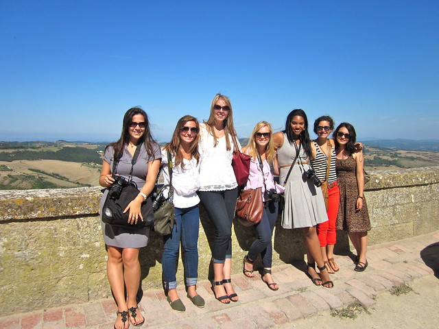 Art and Architecture Students in Montepulciano - Tuscay