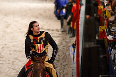 Admiring the crowd (Moogul) Tags: dallas knights 7d f2 medievaltimes joust 135mm 135l canoneos7d