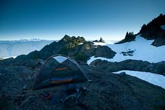 Colonel Bob (buen viaje) Tags: camping blackandwhite sunrise washington hiking olympicpeninsula backpacking mountrainier colonelbob washingtonstatewashingtoncampingcolonelbobpeakhikingmountrainierolympicpeninsulasunrisewashingtoncoastrange colonelbobpeak washingtoncoastrange