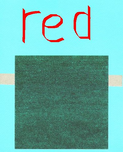 red 6 x 6 by jim leftwich