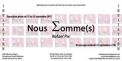 Exposition Photo : Nous Somme(s) (Rafael Pix) Tags: pix exposition noussommes rafaelpix