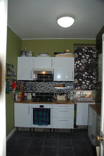 the shiny new kitchen