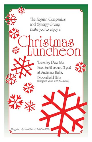 invite christmas luncheon a photo on flickriver
