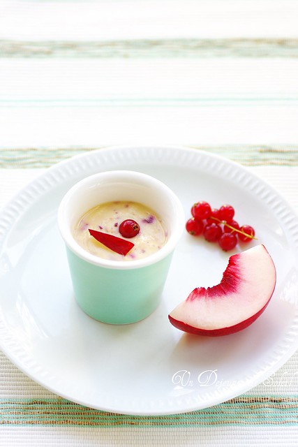 Special mayo (with peach and red currant)