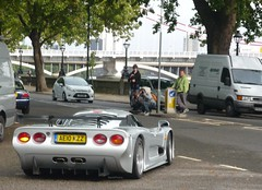 More Nerds (BenGPhotos) Tags: auto london sc silver chelsea legends supercar v8 gtr mosler 2011 mt900 worldcars ae10kzz