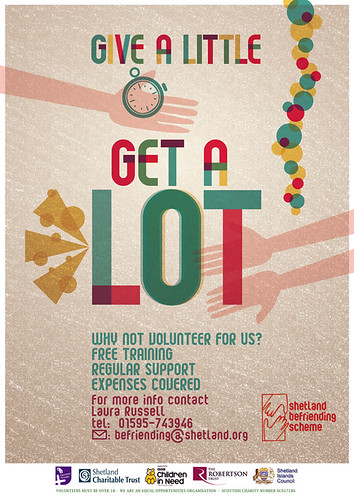 give a little GET A LOT - Befrinding poster Aug 2012 by silkeybeto