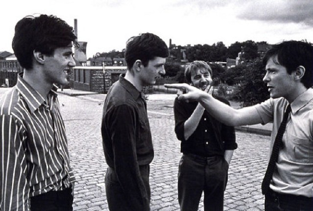 Portrait of Joy Division photographed in 1979...© Paul Slattery / Retna Ltd..Credit all Uses