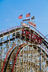 The Cylcone (elrina753) Tags: nyc newyorkcity usa newyork brooklyn unitedstates parks amusementpark rides themepark rollercoast astroland astrolandpark cycone