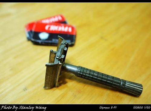 Gillette TTO Flair Tip razor 老式刮鬍刀