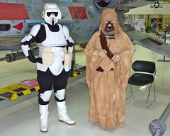 Okay Now, Smile ! (thegreatlandoni) Tags: usa museum movie starwars costume colorado character denver xwingfighter wingsovertherockies