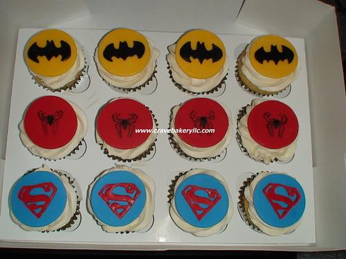Superhero Cupcakes WM