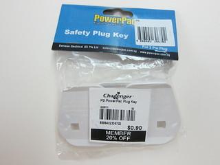 PowerPac Plug Key