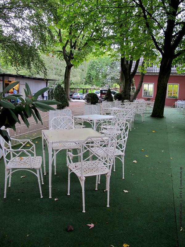 In German Emperor garden, Oberhausen