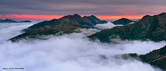 Tra Le Nuvole, Lagorai | Between Clouds, Italy (Enrico Grotto) Tags: sunset parco mountain color landscape san italia tramonto nuvole pale 09 cielo lee trento nikkor colori alpi montagna martino luce paesaggio trentino dolomiti vanguard rolle passo nubi 247028 naturale gnd castrozza wondersofnature lagorai cluod paneveggio cavallazza d700 tognola grottoenrico
