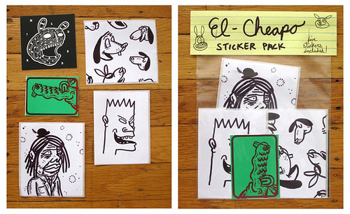 el cheapo sticker pack