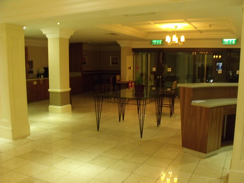 St Johns Hotel, Warwick Road, Solihull - main entrance hall