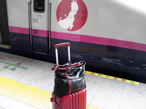 9/4 東京駅にて