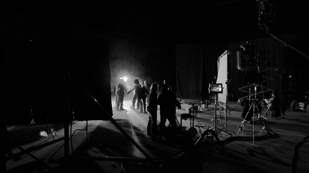 About to light a full body burn - Behind the scenes on the shoot for No Contract, a project by Randall Lloyd Okita 1 5 photo by Michel Kandinsky
