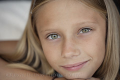 delaney (scoopsafav) Tags: portrait color green girl beauty face kids portraits children kid eyes dof child close shallow leighduenasphotography