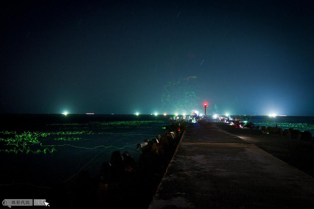 烏石港堤防夜拍 004