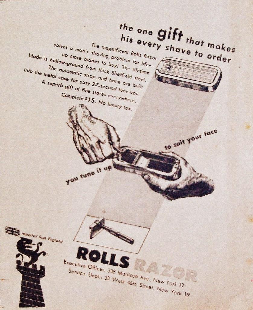 1947 Rolls Razor