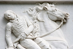 CO802 Casimir Pulaski Monument (listentoreason) Tags: sculpture usa white color art statue stone museum america canon georgia unitedstates favorites places material savannah marble basrelief generalcasimirpulaski score35 ef28135mmf3556isusm montereysquare casimirpulaskimonument