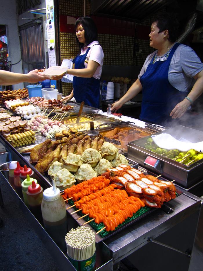 Hong Kong, Mongkok Street Food