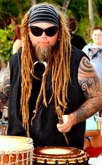 Rasta Drummer Man