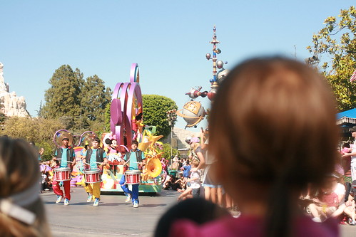 Parade down Main Street
