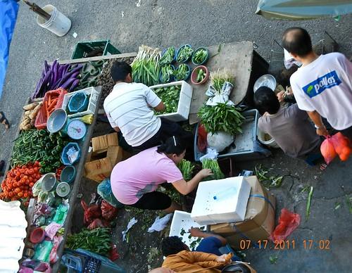 DSCN0737 Market , pasar, Bercham