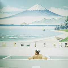 *男湯 (fangchun15) Tags: 120 6x6 mamiya tlr c220 film japan tokyo kodak portra400 たてもの園 ぷらり 銭湯へ行こう