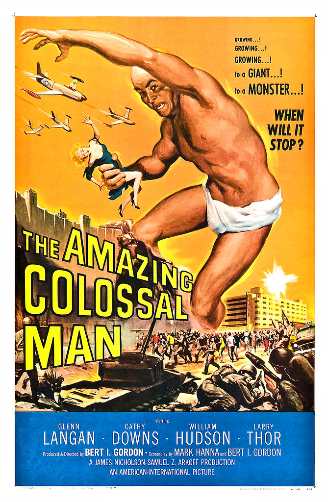 Albert Kallis - The Amazing Colossal Man (American International, 1957) One Sheet