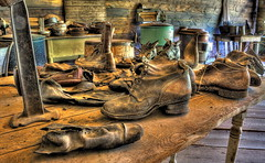 Souls (Soles) of the Past (LoneWolfMontana) Tags: urban west abandoned canon real town scary montana angle decay ghost neglected wide sigma haunted spooky ultra hdr garnet photomatix 60d 816mm stunningphotogpin