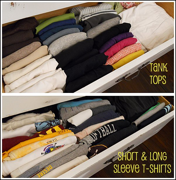 Drawer Dresser Organizer Dresser Drawer T-shirts